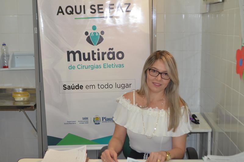 Maria Santana, diretora do hospital (Crédito: Reprodução)